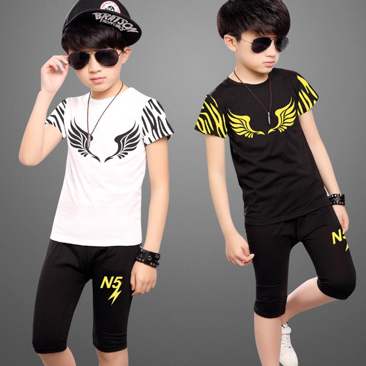 21ff4cbe1d80 2019 Hot Sale Brand Boys Clothing Children Summer Boys Clothes ...