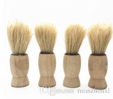 Vintage Saf Porsuk Epilasyon Tıraş Erkek Tıraş Araçları Kozmetik Aracı Ücretsiz Nakliye Için Tıraş Fırçası