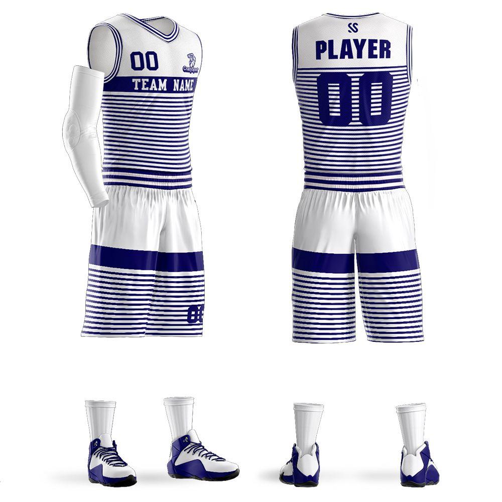 98252ad2d 2018 Men Kids Professional Basketball Jerseys Sports clothing Shirt +  Shorts Uniforms Set Breathable Customized Training suits