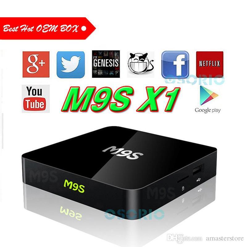 New T95X M9S X1 S905X OTT TV BOX Android 6 0 1G+8G Quad Core 100LAN WiFi  2 4GHz T95 T95N 4K Chromecast WIFI TV BET MXQ PRO S905W