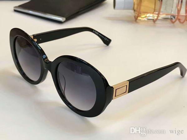 5b349c7a9734 Women 0293S Sunglasses Gold Black Grey Gradient Lens 52mm Special ...