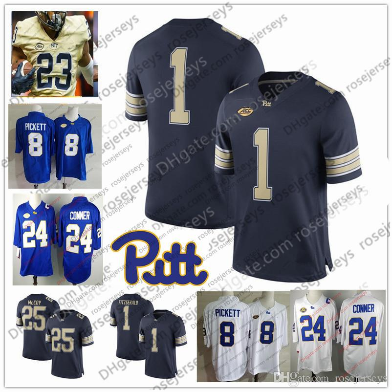 2019 Custom Pittsburgh Panthers Pitt College Football Navy Blue Royal White  Stitched Any Name Number  8 Kenny Pickett 3 Damar Hamlin Jersey S 3XL From  ... 81e480328