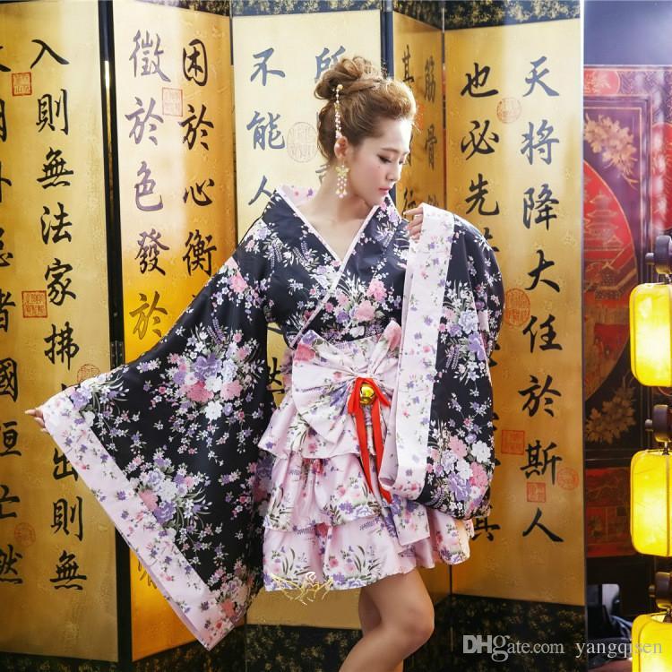 New Anime Costume Kimono SAKURA Cosplay Costume Lolita Princess danse robe costume