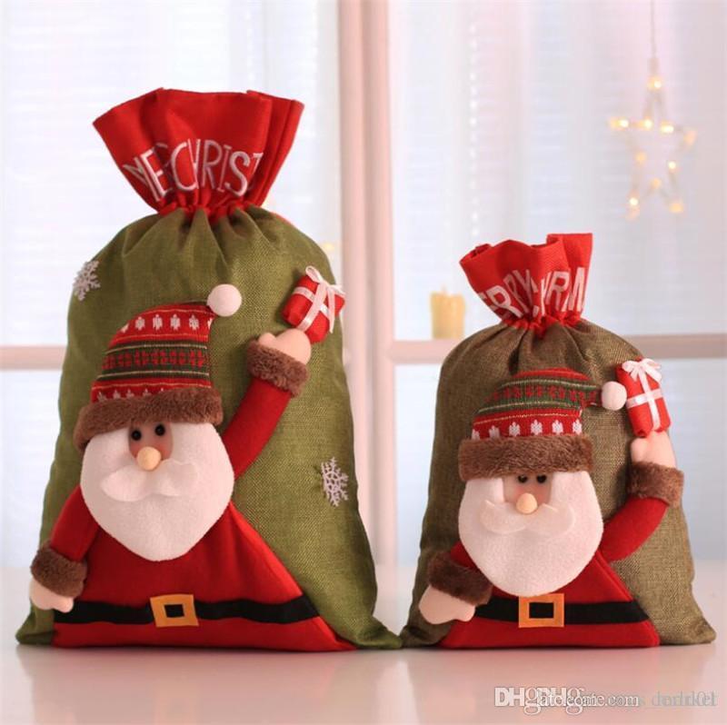 Großhandel Weihnachtsgeschenk Tasche Süßigkeiten Tasche Weihnachten ...