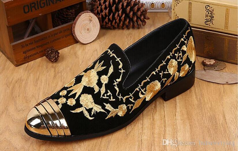 Set foot wedding dress men's shoes European and American style business work leather casual men's shoes.big size37-46 x63