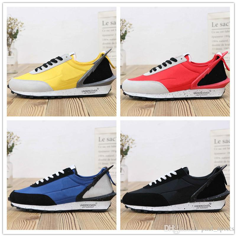 9774db2d711d Hot Sale Designer Undercover X Showroom Waffle Racer Running Shoes For Good  Quality Men Trainers Classic Athletic Sneakers Size 39 45 Running Spikes  Track ...