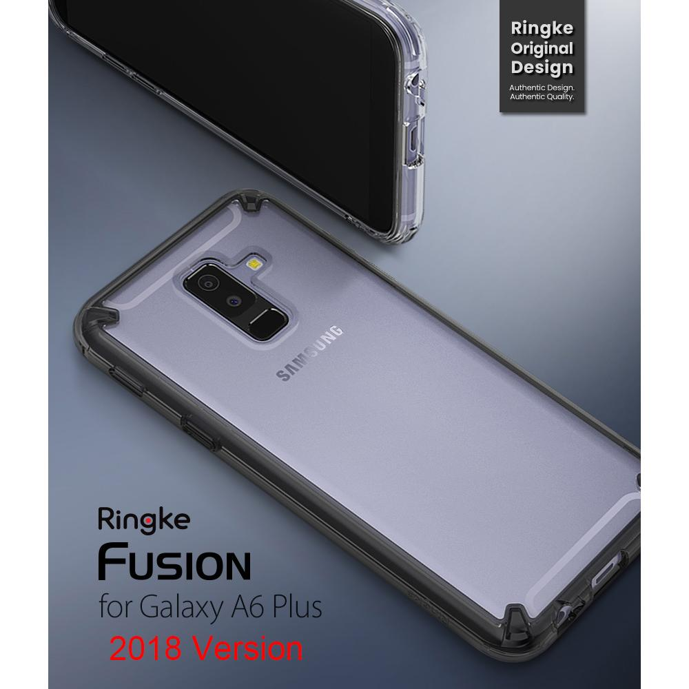 new concept 23a0e f7b29 100% original Ringke Fusion for Samsung Galaxy A6 Plus 2018 mobile phone  personalized creative cover (released in 2018)