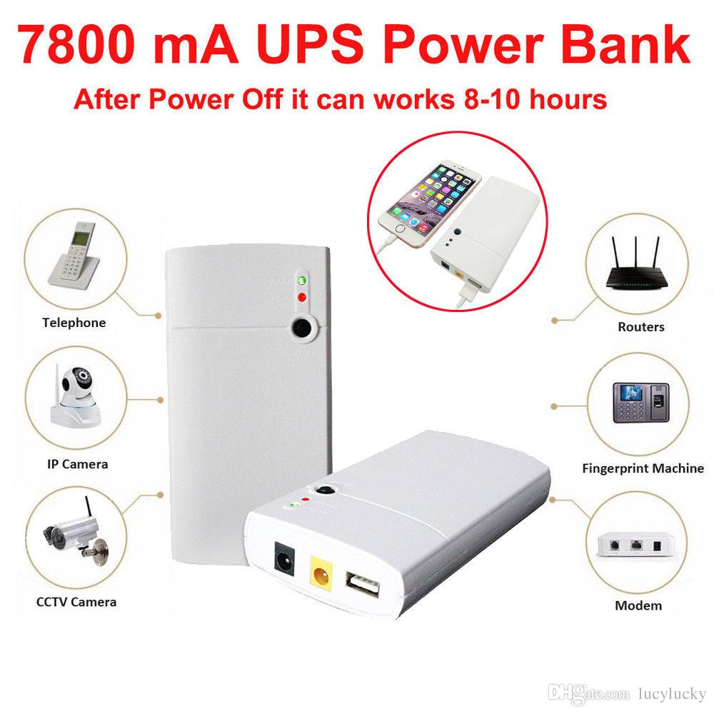 Uninterrupt Power Supply UPS 12V 7800mAh Battery For CCTV System Modem  Computer