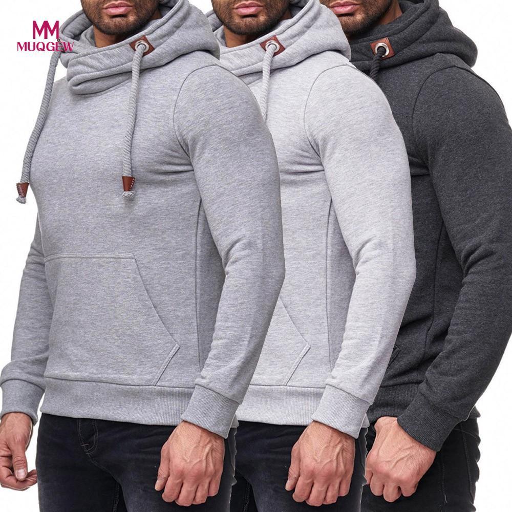 9509b1be6c Compre Mens Hip Hop Casaco Esporte Solto Sólidos Manga Comprida Com Capuz  Camisa Top Hoodie Yoga Blusa Fatos De Treino Masculino De Primali