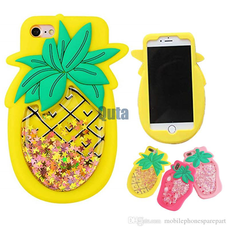 coque iphone 7 3d ananas