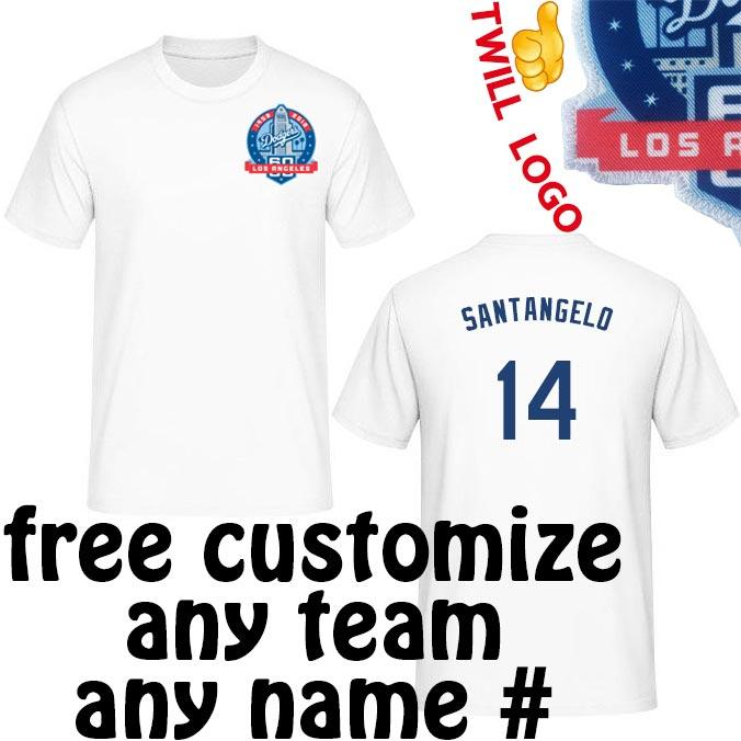 2019 Los Angeles Dodgers Shirts F.P. Santangelo 75215aba5a8