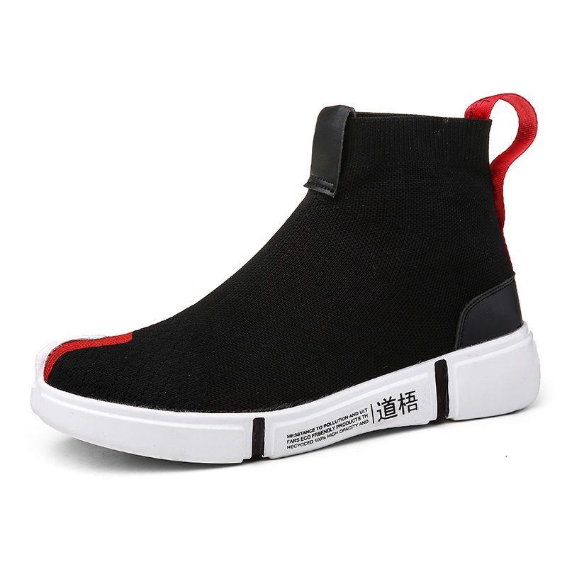 c04929bfb4e71 LI NING NYFW Wade Essence Hombres Transpirable Ligero Baloncesto Cultura  Zapatos High Top Knit Calzado Deportivo Calcetines Zapatillas De Deporte  Diseñador ...