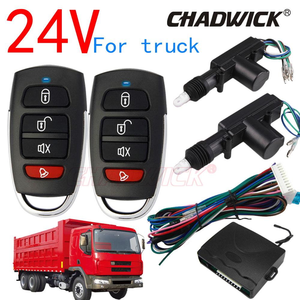 Electric Vehicle Parts Professional Sale Central Keyless Door Lock Central Locking System With Car Remote Control Alarm Systems Remote Control Central Kit Locking Switch Controllers