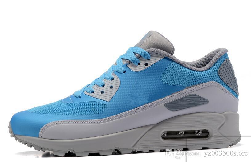 reputable site 6f258 2824b Compre Nike Air Max 90 Ultra 2.0 Essential 2018 Nuevo 90 Ultra 2.0 Esencial  Zapatos Corrientes Para Mujer Para Mujer Tamaño 5.5 12 Cojín De Aire Zapatos  ...