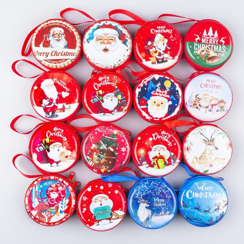 Buon Natale Per Bambini.Acquista Portamonete Bambini Di Buon Natale Babbo Natale Con