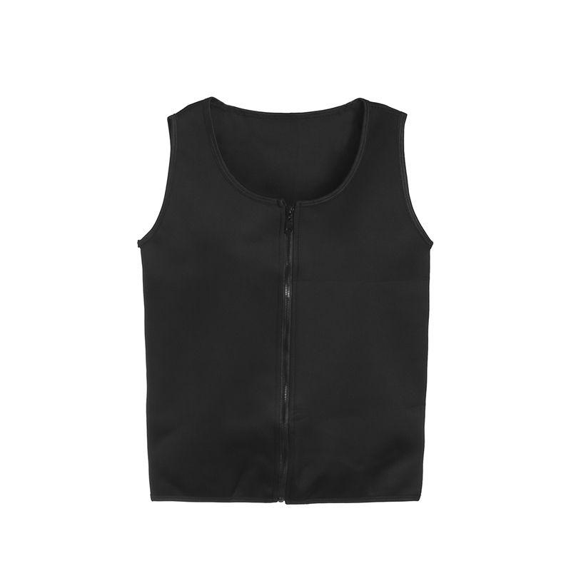8369d17e20065 2019 Men Sports Vest Sauna Body Belly Shaper Sports Slimming Zipper Corset  Neoprene Gym Fitness Athletic Sportswear From Fwuyun