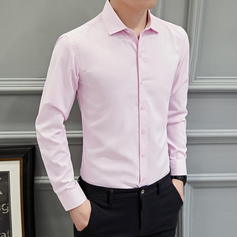 best loved 1ece2 ec70b Camicie eleganti da uomo di moda multicolore Camicie da lavoro da uomo di  grandi dimensioni, confortevoli, eleganti, da uomo, 5XL