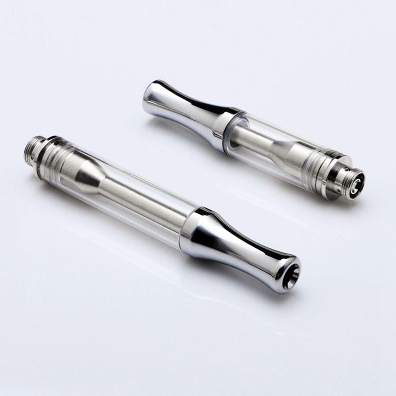 AC1003 Vape Pen Cartridge 1ml Ceramic Vape Cartridge Glass Thank Empty  Ceramic Coil Thick Oil Wax Vapotizer 510 Thread Atomizer EEC012