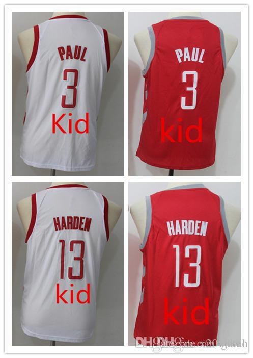 quality design aaa08 fa651 netherlands james harden kids jersey 06421 3b6de