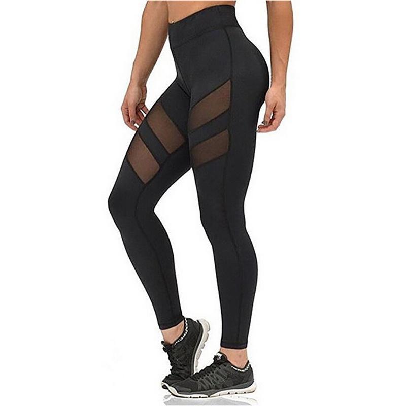 f2e8c48be865e Factory Outlet 2017 Athleisure Leggings For Women Mesh Splice ...