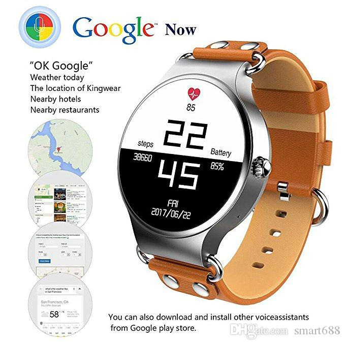 Newest KW98 Smart Watch Android 5 1 3G WIFI GPS Watch MTK6580 Smartwatch  iOS Android For Samsung Gear S3 Xiaomi PK KW88