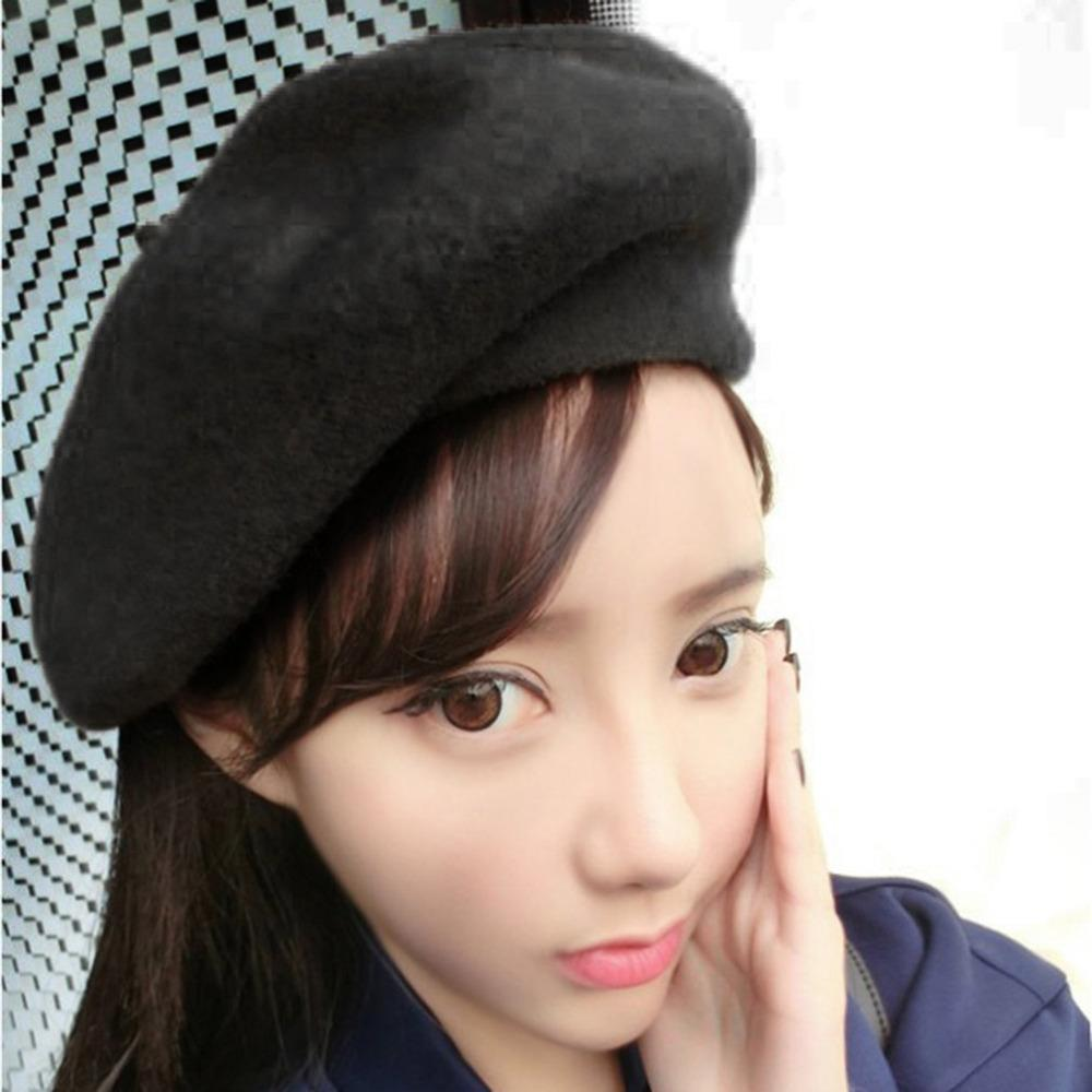 7842ac79058a4 2019 Autumn Winter Women Ladies Fashionable Design Cap Berets Princess Hat  Outdoor Casual Cap Easy To Match Clothes 2017 Fashion From Juemin