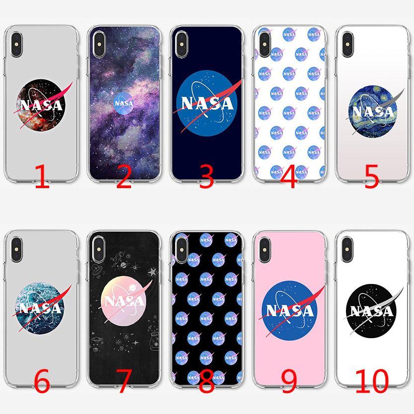 bdd658db3d4 Fundas Movil Baratas Funda De Silicona Suave TPU Art Space De La NASA Para  IPhone X XS Max XR 8 7 Plus 6 6s Plus 5 5s SE Carcasas De Celulares Por ...