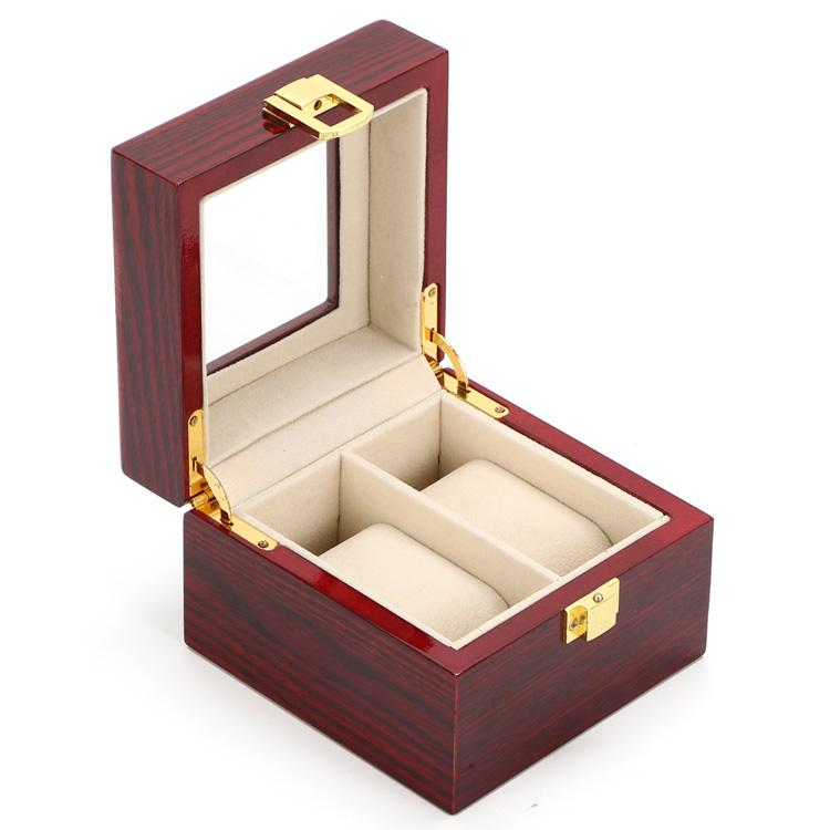 2 Grids Display Watch Box Top Red Piano Paint Watch Storage Boxes Fashion Mdf Gift Brand Box For Luxury Menu0027s D014 Watches Box Case Leather Travel Watch ...  sc 1 st  DHgate.com & 2 Grids Display Watch Box Top Red Piano Paint Watch Storage Boxes ...