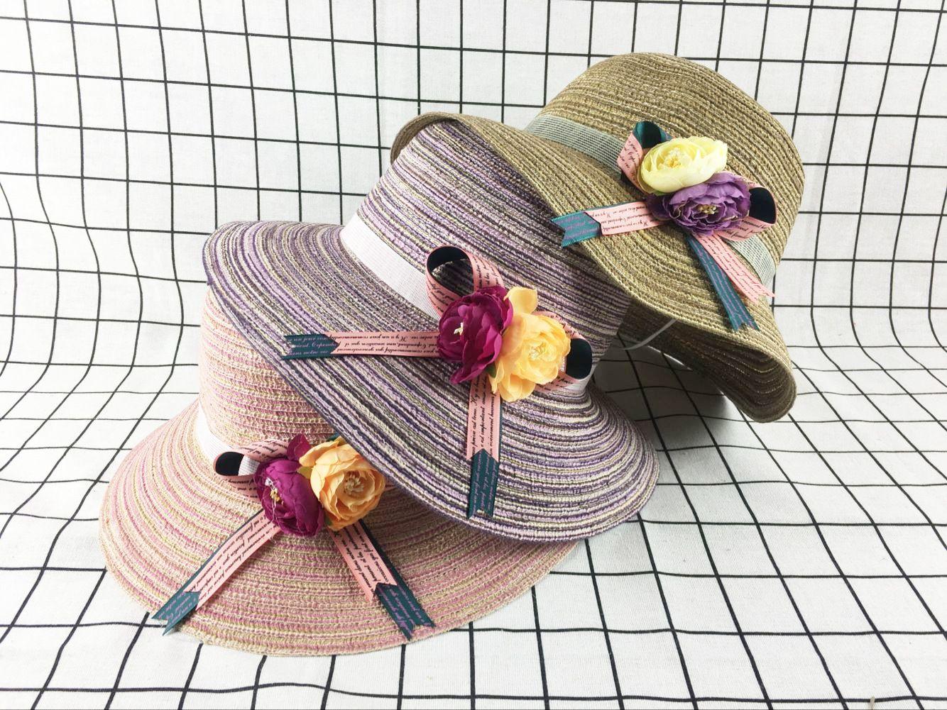 559ef731898 Korean Cute Sun Visor Bow Beach Women s Straw Hat Folding Comfortable  Travel Small Eaves Straw Hat Lovely Beach Hat Affordable Little Eaves Hat  Travel ...