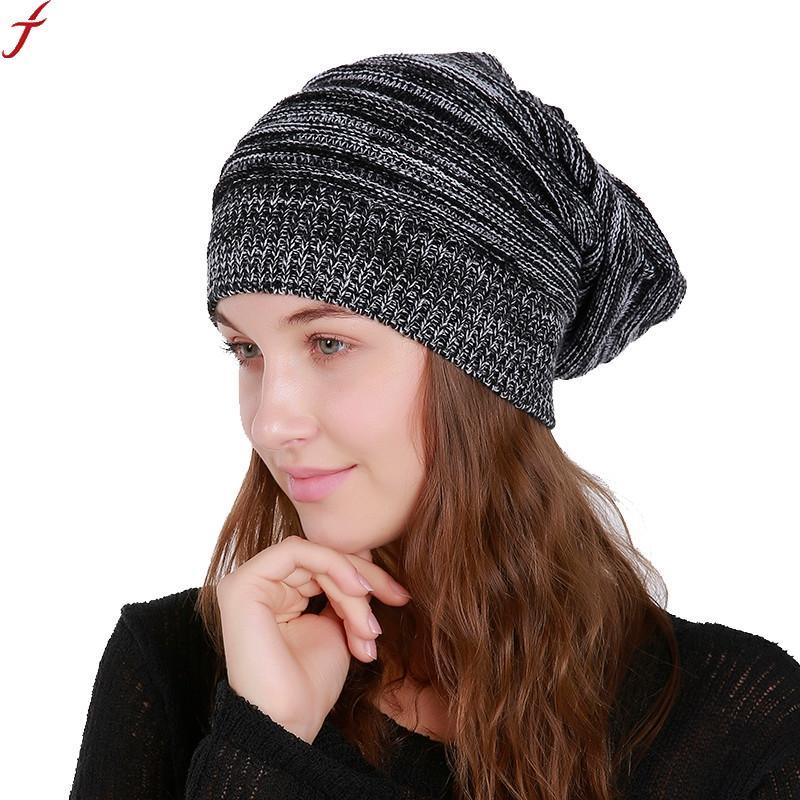 5856a05119d 2018 Women S Winter Hats Cap Men Women Warm Knitted Skullies Beanie Hat New  High Quality Female Cap Gorros Bonnet Femme Mens Hats Straw Hat From ...