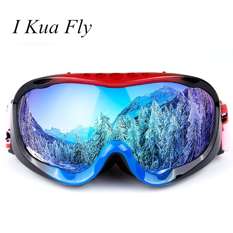 320dc8e5a60 New Winter Ski Goggles Snow Snowboard Color Ski Glasses UV400 Double ...
