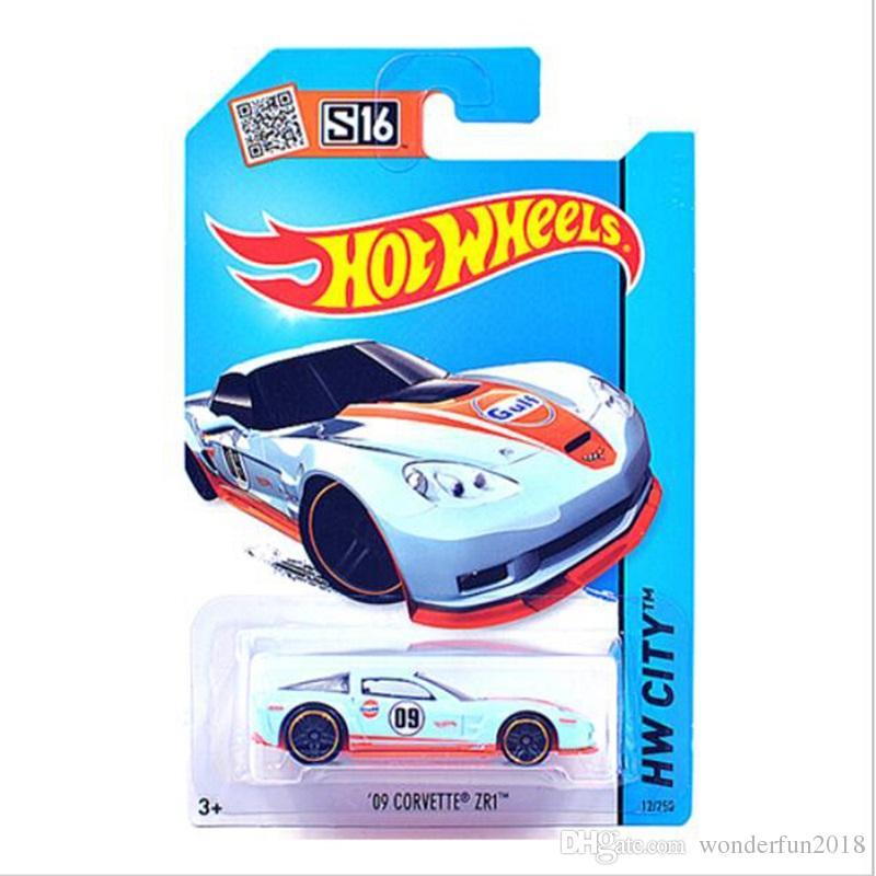 Hot Wheels Car 100% Original Basic Car Toy Mini Alloy Collectible Model HotWheels Cars Toy For Children C4982 Sent Random