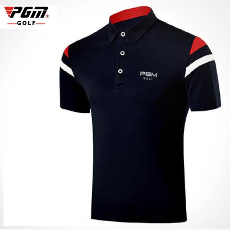 dcc598c8 2019 Pgm Golf Men'S T Shirt Male Golf Polo Shirts Summer Breathable Tops  Elastic Short Sleeved Uniforms Ultra Thin Clothing D0354 From Yiquanwater,  ...