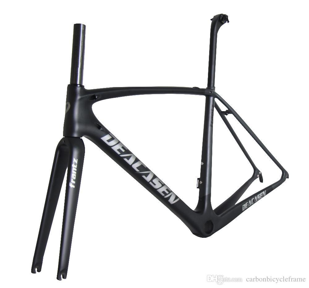 2018 Frames Black Matt Racing Bicycle Carbon Road Frame Cycling ...