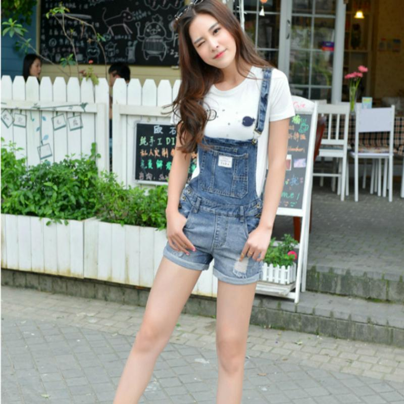 180fb598209 2019 Summer Denim Overalls Women Shorts Plus Size Xxxxl Vintage Hole Cuffs  Washed Jeans Short Denim Shorts For Female 2018 From Cupidcloth
