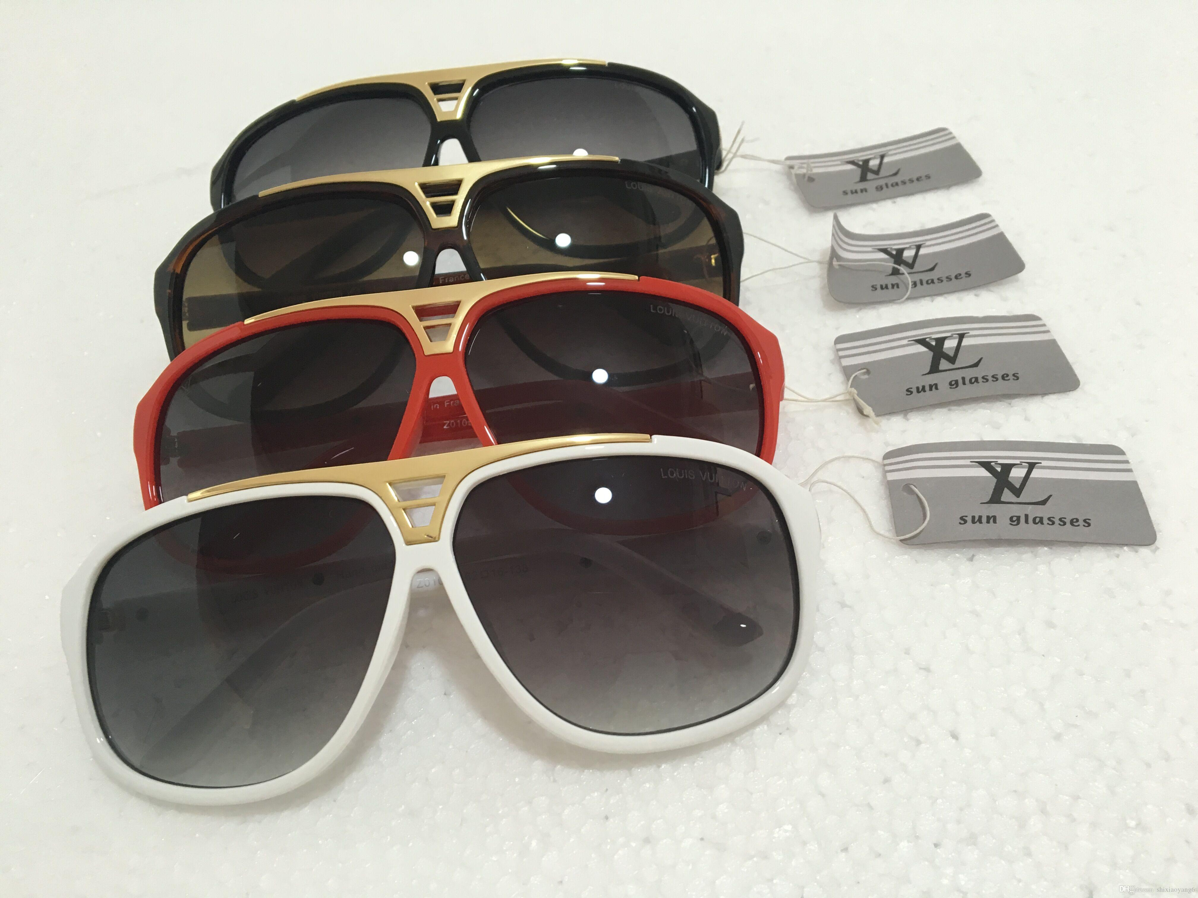f4d462437 Top Quality Designer Classic Pilot Sunglasses Eyewear Mens Womes Full Color  Tortoise Leopard 58mm Gradient Brown Flash Glass Lens Case Dragon Sunglasses  ...