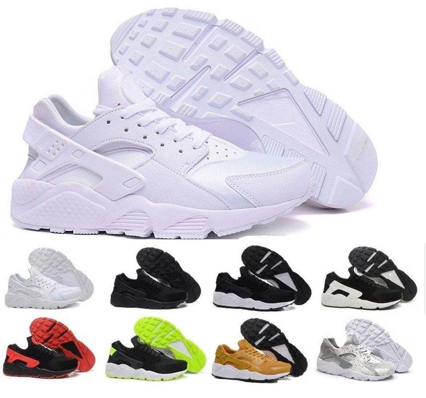 top fashion 26eb3 60baf Acquista Nike Air Max Novità Air Huarache I Scarpe Da Corsa Uomo Donna,  Verde Bianco Nero Oro Rosa Sneakers Triple Huaraches 1 Scarpe Da Ginnastica  Huraches ...