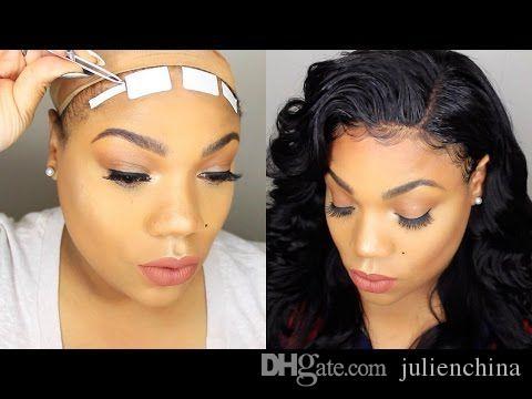 Top Skin Hair Tape pour Hair Trame HairGlue Hairpiece Toupee Supertape pour fixer la perruque