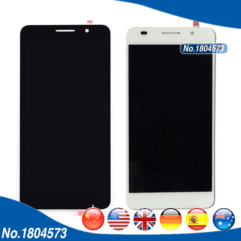 5 0 Honor 6 LCD For Huawei Honor 6 H60-L02 H60-L12 H60-L04 LCD Display With  Touch Screen Digitizer Assembly 1PC/Lot