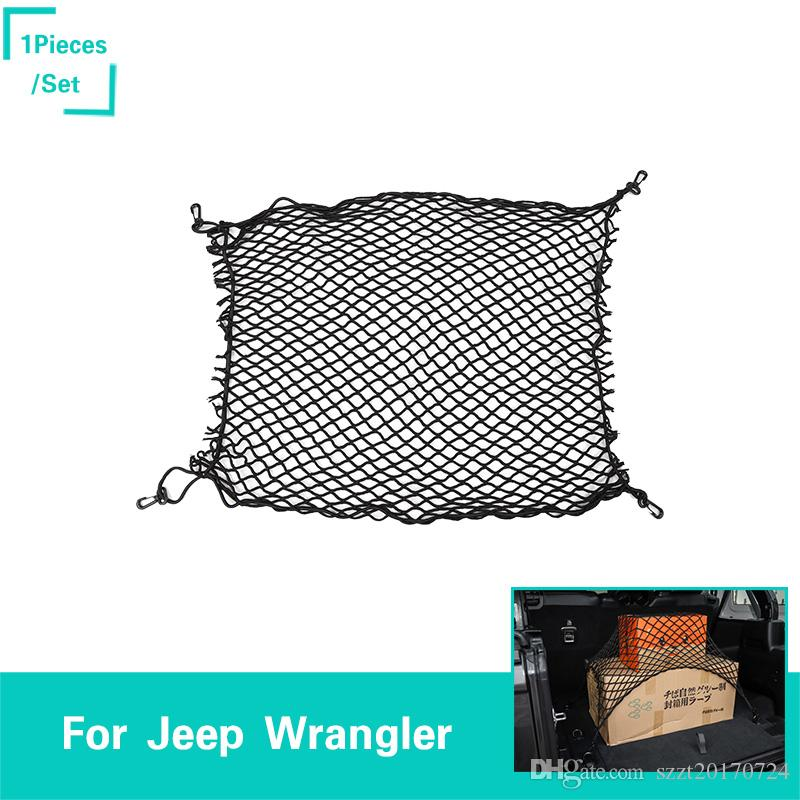 bf50357a Weaving Tail Box Net For Jeep Wrangler JL 2018 Factory Outlet High Quatlity  Auto Internal Accessorie Automotive Interior Parts Automotive Interior  Supplies ...