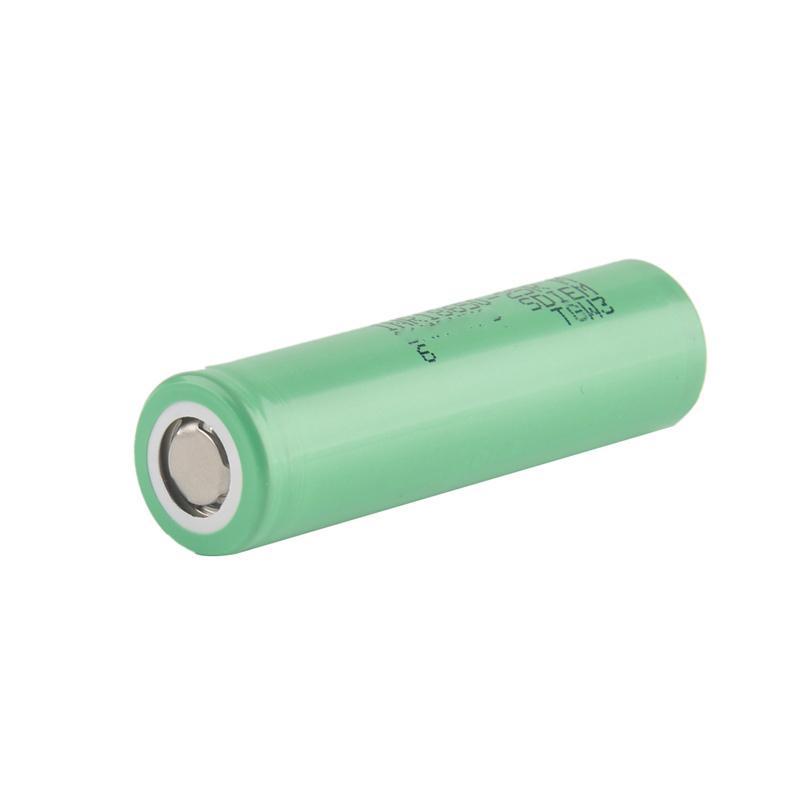 100% de Alta Qualidade 25R 18650 bateria INR Bateria 2500 mAh 3.7 V 20A Recarregável de Lítio Para E Cig Box Mod 0269009