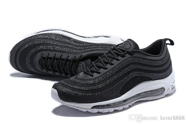 f307dd397d5 2018 New 97 OG X Undftd Black Speed Red DS Men s Running Shoes For ...