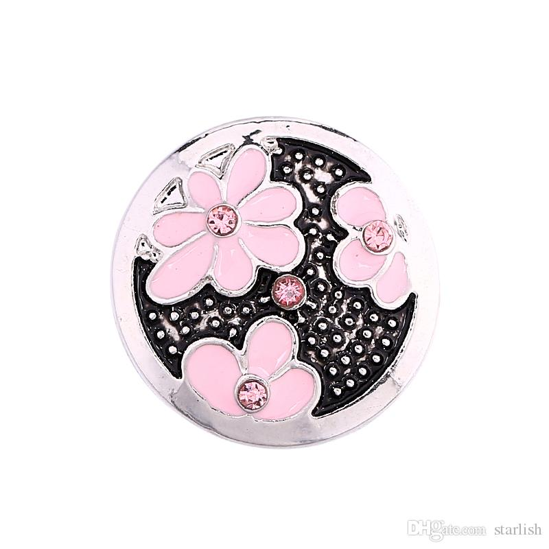2018 Fashion Cheap Snap Button 18mm MOM Rugby Jewelry DIY Necklace Bracelet Accessory