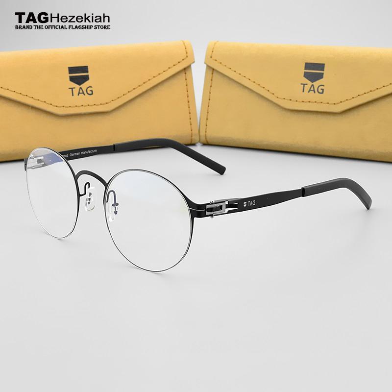 Großhandel Runde Brille Rahmen Frauen Rahmen Grad Brillen Männer Tag ...
