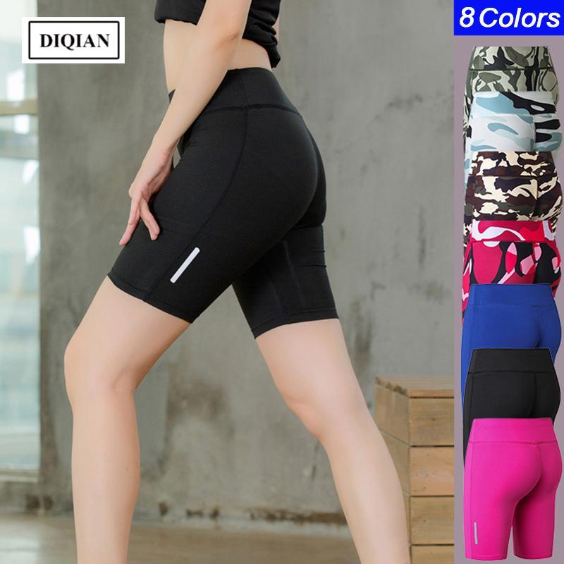 Compre DIQIAN Camuflagem De Fitness Calções De Yoga Para As Mulheres  Musculação Esporte Shorts Apertados 8 Cores Femininas Mulheres Correndo  Sportwears De ... c84f11db34833