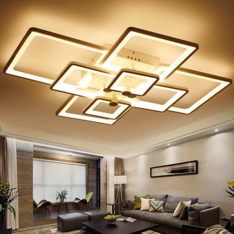 Stylish Living Room Lighting Ideas Meethue: 2019 Surface Mounted Light Modern Led Ceiling Lights For