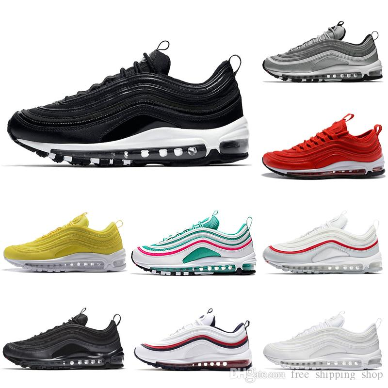 low priced f49ca b427a ... 1 low donna basketball scarpa bianche argento rosa ngfr 4b180 9ddce   order acquista nike air max 97 airamx 97 x undefeated triplo bianco balck  verde ...