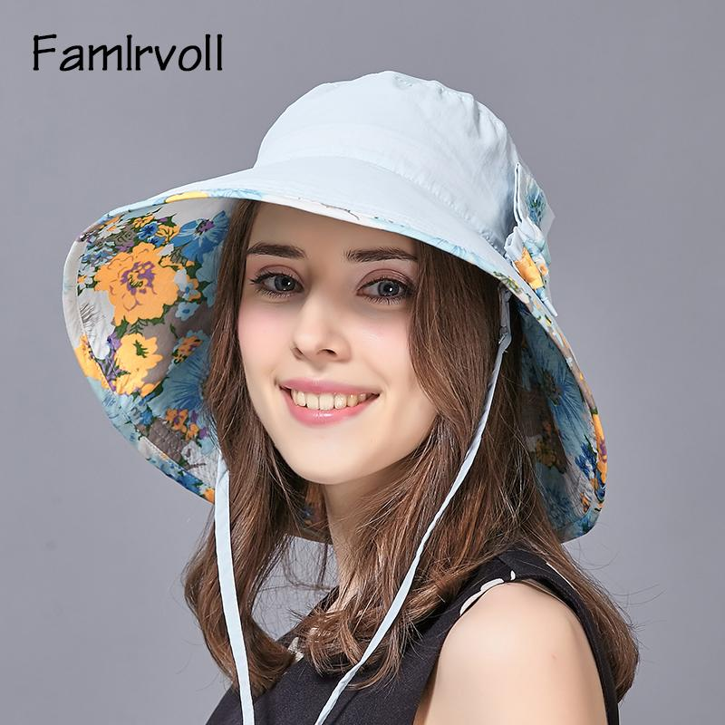 e5fbd9a731dde7 New Fashion Summer Sun Hat Adult Travel Basin Hat Wide Brim Students  Outside Leisure Sun Cap Folding Beach B 7931 Ladies Hats Floppy Hats From  Fashionable16 ...
