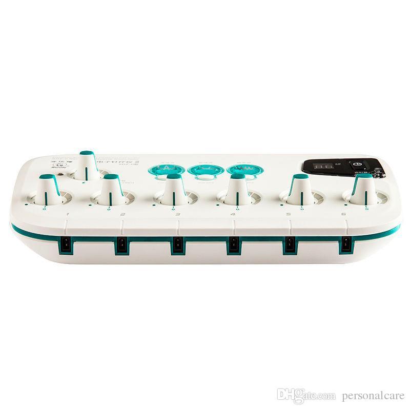 새로운 업 그레 이드 Hwato SDZ - II 전자 바디 마사지 침술 자극기 기계 6 출력 채널 침술 치료기구