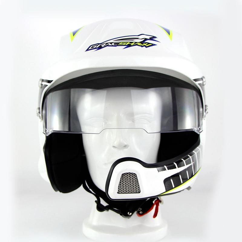 Acheter Casque Bluetooth Intégré Dans La Rue Casques Moto Racing